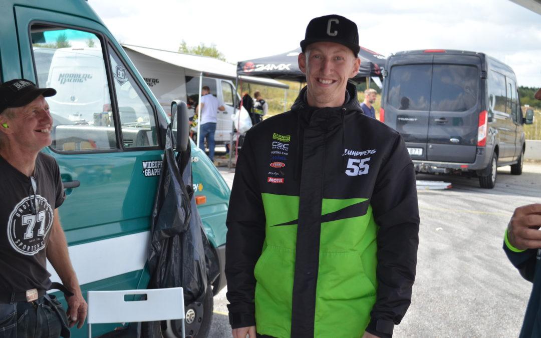 Daniel Lundberg sattsade på Sverigecupen